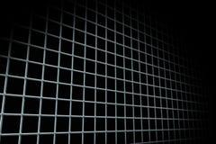 Dark black and grey gird pattern Stock Images