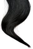 Dark black hair Stock Photo