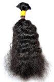 Dark black hair Stock Photos
