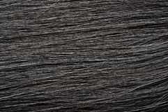 Dark black hair texture Royalty Free Stock Image