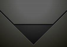 Dark black hi-tech corporate vector design Stock Photos
