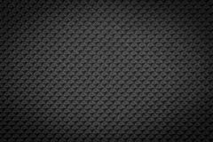 Dark black regular plastic texture Stock Photo