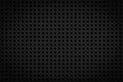 Dark black regular plastic texture Royalty Free Stock Photography