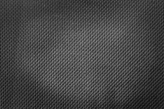 Dark black texture. Dark black canvas material texture Royalty Free Stock Image