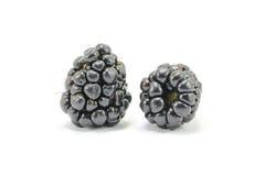 Dark blackberry fruit Stock Photography