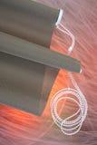Dark blinds Royalty Free Stock Image