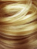 Dark blond hair texture background Royalty Free Stock Photo