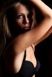 Dark blonde woman Royalty Free Stock Image