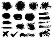 Dark blots Royalty Free Stock Images
