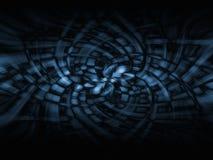 The dark blue 2. Dark blue abstract background, illustration Stock Photo