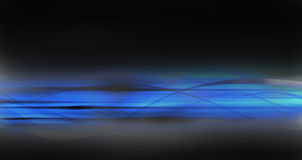 Dark blue abstract background. This is an illustration of the vivid blue into black gradient with flows and lines. Good to use as backgrounf for webdesign or Royalty Free Stock Photo