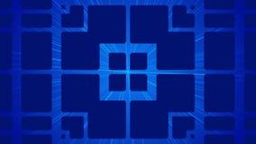 Dark blue abstract background, loop stock footage