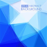 Dark blue abstract background Stock Photography