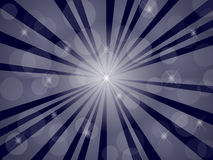 Dark blue abstract background with rays Stock Photos
