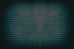 Dark  blue abstract checkered string wave background or texture Royalty Free Stock Images
