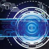 Dark blue abstract technology background Royalty Free Stock Photo