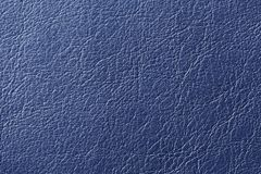 Dark Blue Artificial Leather Background Texture Stock Image