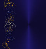 Dark blue background Royalty Free Stock Photos
