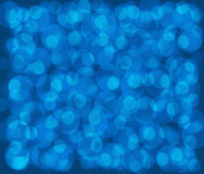 Dark blue background with blue circles Royalty Free Stock Photo