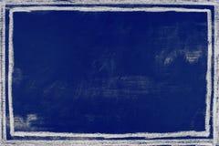 Dark blue background chalkboard texture - graphic background Stock Photo