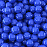 Dark blue balls background (3d render) Royalty Free Stock Photography