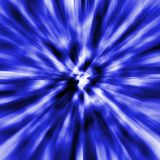 Dark blue black hole Royalty Free Stock Photography
