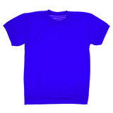 Dark blue blank t-shirt (Clipping path) Stock Photo