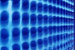 Dark blue blurred lights Stock Photo