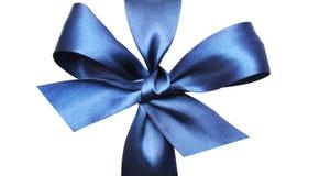 Dark blue bow Stock Photos