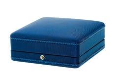 Dark blue box Royalty Free Stock Photos