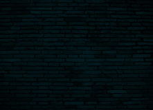 Dark blue brick wall for background Stock Photos
