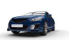 Dark Blue Car - Closeup Stock Photography