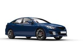 Dark Blue Car Royalty Free Stock Photo
