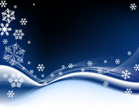 Dark blue Christmas background Stock Photography