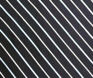Dark blue cloth with white thin stripe Royalty Free Stock Photo