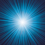 Dark blue color burst. Vector. Royalty Free Stock Photo