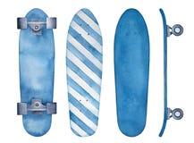 Skateboard sketchy illustration collection. vector illustration