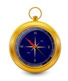 Dark blue compass Stock Images
