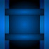 Dark blue corporate tech art Royalty Free Stock Photos