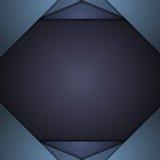 Dark blue corporate tech background Stock Photography