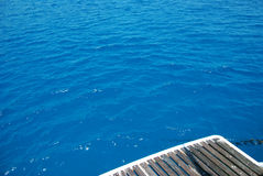 Dark  blue Cretan   Sea Royalty Free Stock Photos