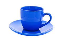 Dark blue cup Royalty Free Stock Photo