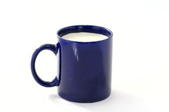 Dark-blue cup Royalty Free Stock Photography