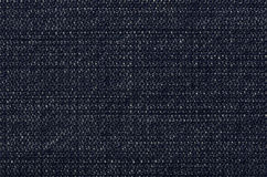 Dark blue denim jeans texture with fade and pale Stock Photo
