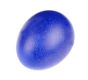 Dark blue easter egg Stock Photos