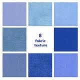 Dark blue fabric texture Royalty Free Stock Image
