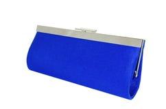 Dark blue female clutch  bag Stock Image