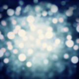 Dark blue Festive Christmas background. Abstract twinkled bright Stock Images
