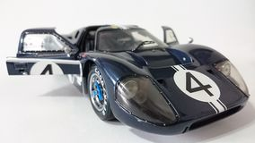 Dark blue Ford Gt40 racing car Stock Photography