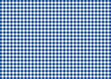 Dark Blue Gingham Pattern Background. This is a background illustration inspired in a gingham pattern Stock Photo